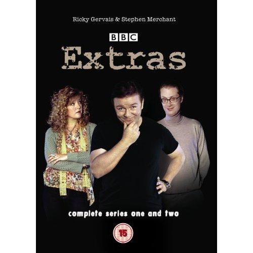 Extras Series 1 & 2 DVD
