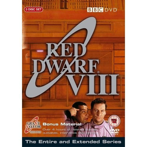 Red Dwarf Series 8 DVD