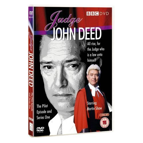 Judge John Deed Martin Shaw Pilot and Complete Series 1 DVD