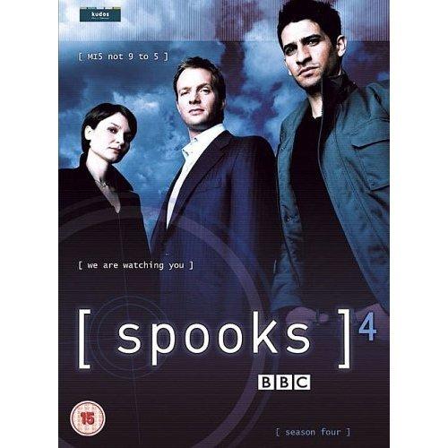 Spooks Series 4 DVD