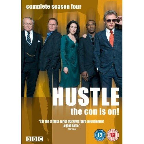 Hustle Series 4 DVD