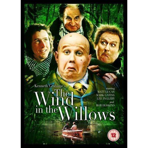 The Wind in the Willows Matt Lucas Bob Hoskins DVD