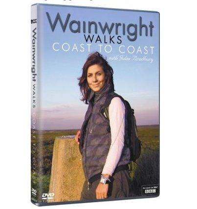 Wainwright Walks Coast to Coast Julia Bradbury DVD