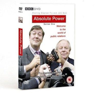 Absolute Power Stephen Fry Series 1 DVD