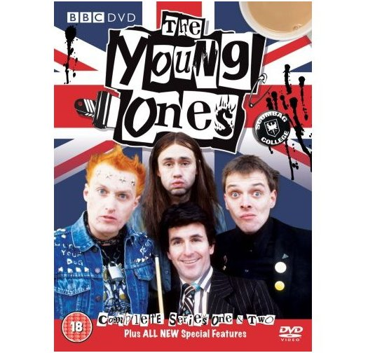 The Young Ones Complete Series 1 & 2 DVD (1982)