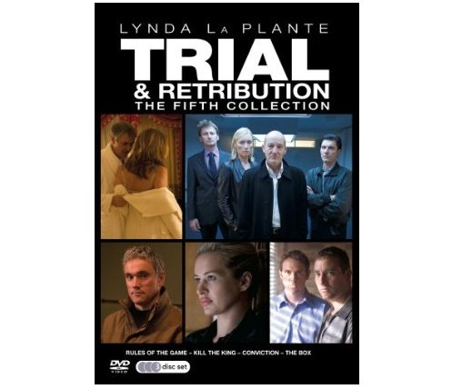 Trial and Retribution Lynda LaPlante The 5th Collection Volumes 15 - 18 DVD