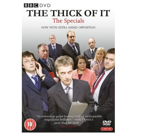 The Thick of It Specials DVD
