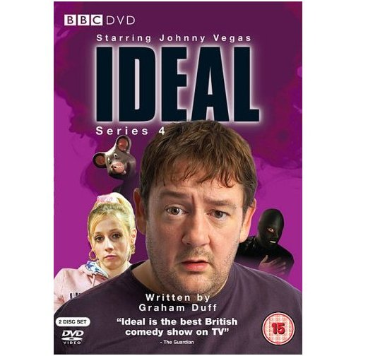Ideal Johnny Vegas Series 4 DVD