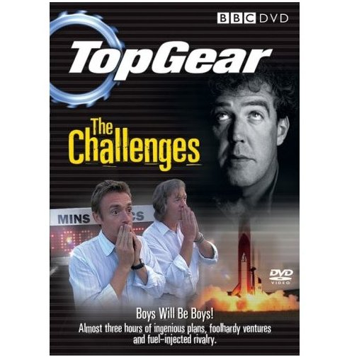 Top Gear: The Challenges DVD