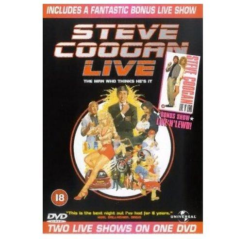 Steve Coogan Live n Lewd/The Man Who Thinks He's It DVD