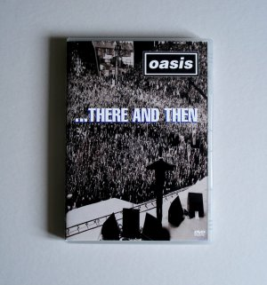 OASIS THERE AND THEN RARE OOP LIVE DVD