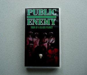 PUBLIC ENEMY TOUR OF A BLACK PLANET RARE OOP LIVE VHS