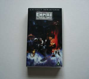 THE EMPIRE STRIKES BACK STAR WARS RARE OOP VHS