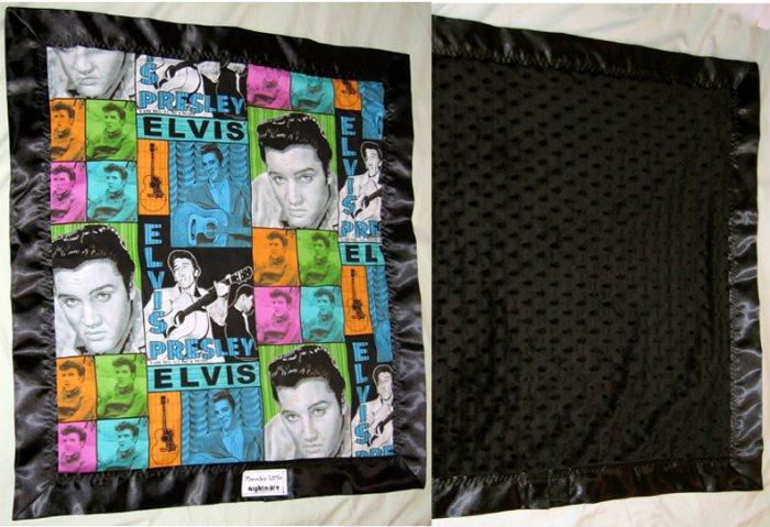 Velvet Elvis Hankie Blankie