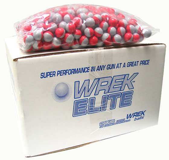 Wrek Paintballs 2000 round case