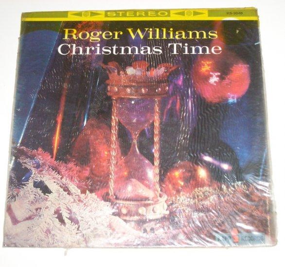 Roger Williams Christmas Time 33 RPM Vinyl LP