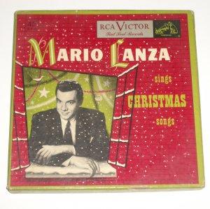 Mario Lanza Sings Christmas Songs 4 Record Box Set