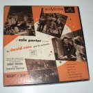 Cole Porter Night and Day Box Set of 45 RPM Vinyl Records 1951