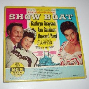 Show Boat Box Set of Vinyl Records 1951
