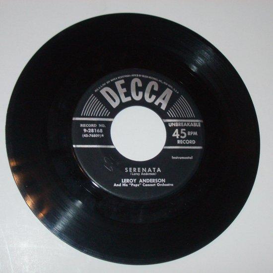 Leroy Anderson Vinyl Record Album Serenata / Plink, Plank, Plunk! 1952