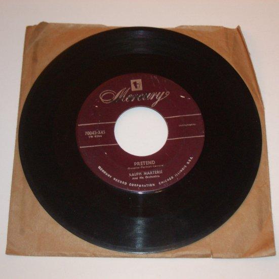 Ralph Marterie 45 RPM Vinyl Record Album After Midnight / Pretend 1953