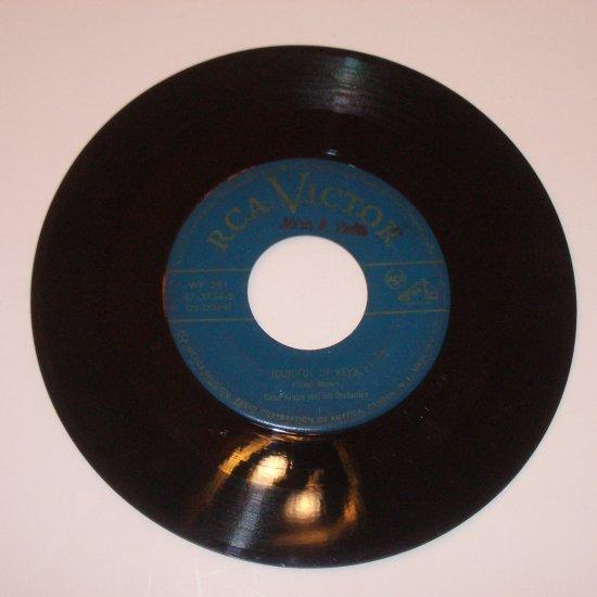 """Gene Krupa 7"""" Record Album Ain't Misbehavin' / Handful of Keys"""