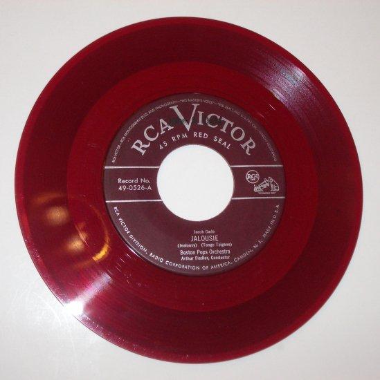 "Fiedler and Boston Pops 7"" 45 RPM Vinyl Record Jalousie / Ritual Fire Dance"