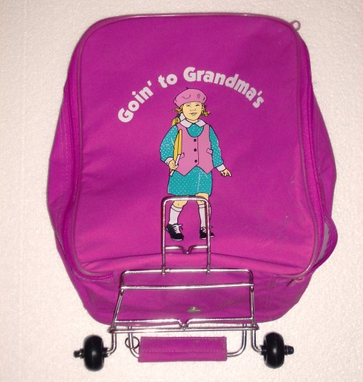 Goin' to Grandma's Childs Wheeled Suitcase with Pull Handle