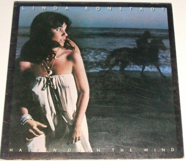 Hasten Down the Wind by LINDA RONSTADT 1976 33 RPM LP