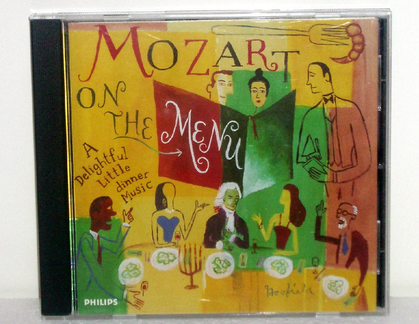 Mozart on the Menu: A Delightful Little Dinner Music  by Wolfgang Amadeus Mozart Audio CD 1995