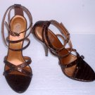 Carlos Santana Brand Truth Oxford Strappy Sandals Shoes Size 5.5