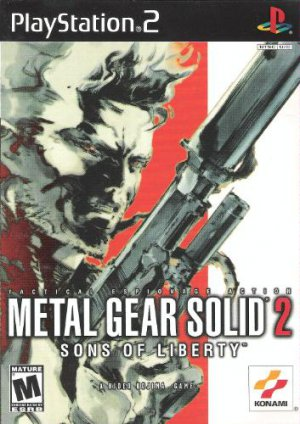 Metal Gear Solid 2: Sons of Liberty Playstation 2 PS2 Game