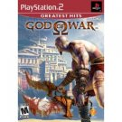 God of War Sony PS2 Game PlayStation 2