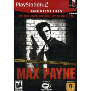 Max Payne PS2 Game PlayStation 2