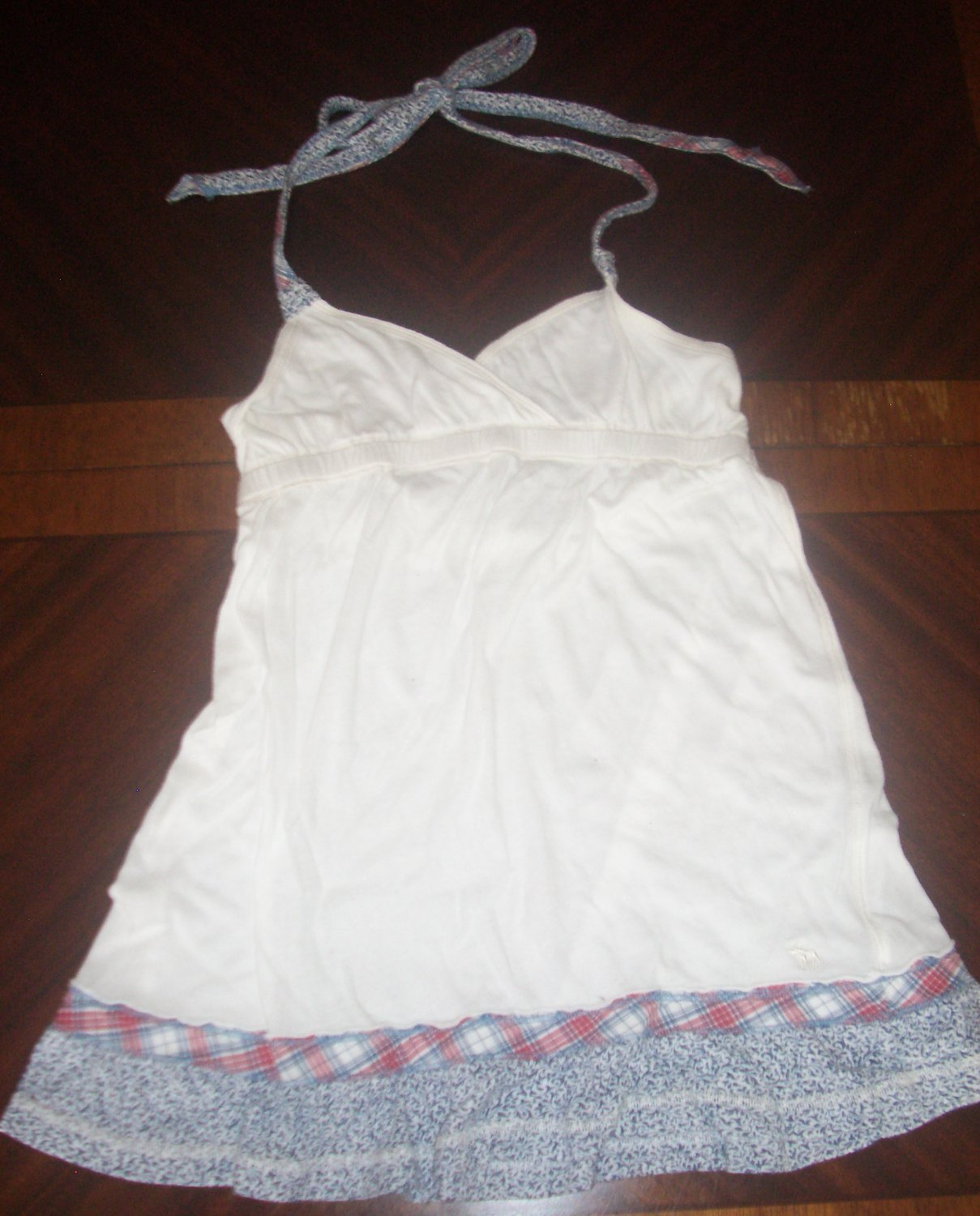 A&F Abercrombie & Fitch Womens Junior Tie Up Halter Tank Top Sz XS Pairs w Lots!
