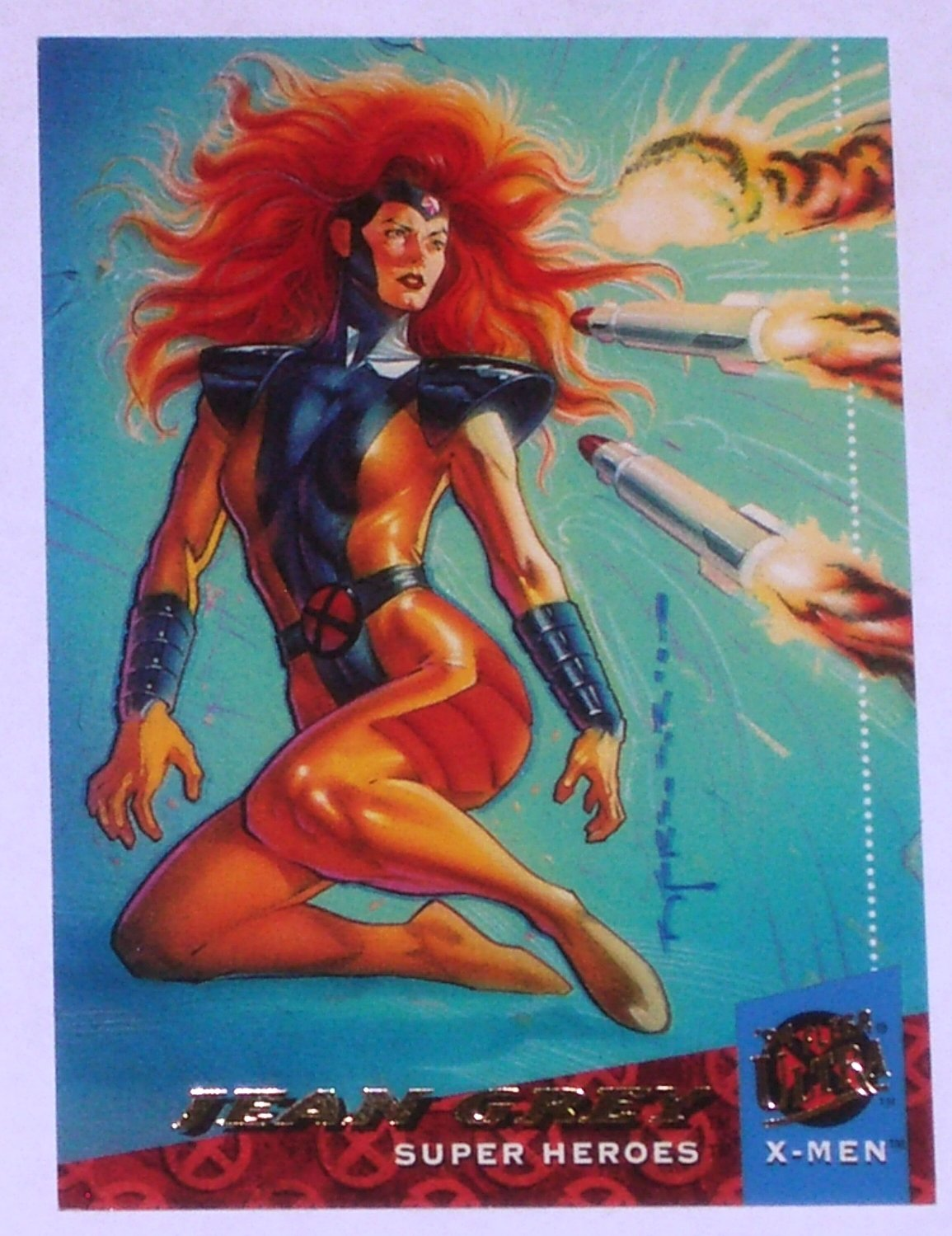 JEAN GREY '94 Fleer Ultra X-Men Super Heroes Trading Card Marvel Comics #14