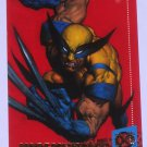 WOLVERINE '94 Fleer Ultra X-Men Super Heroes Trading Card Marvel Comics #6