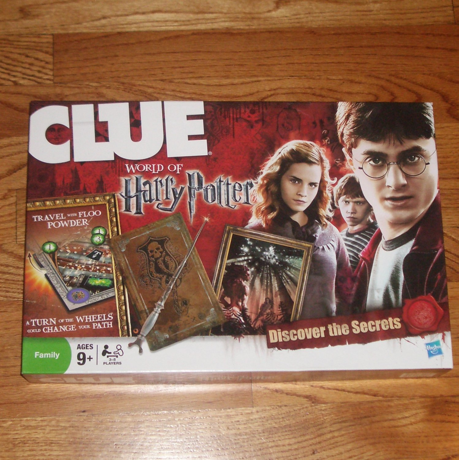 Harry Potter Clue Board Game 2008