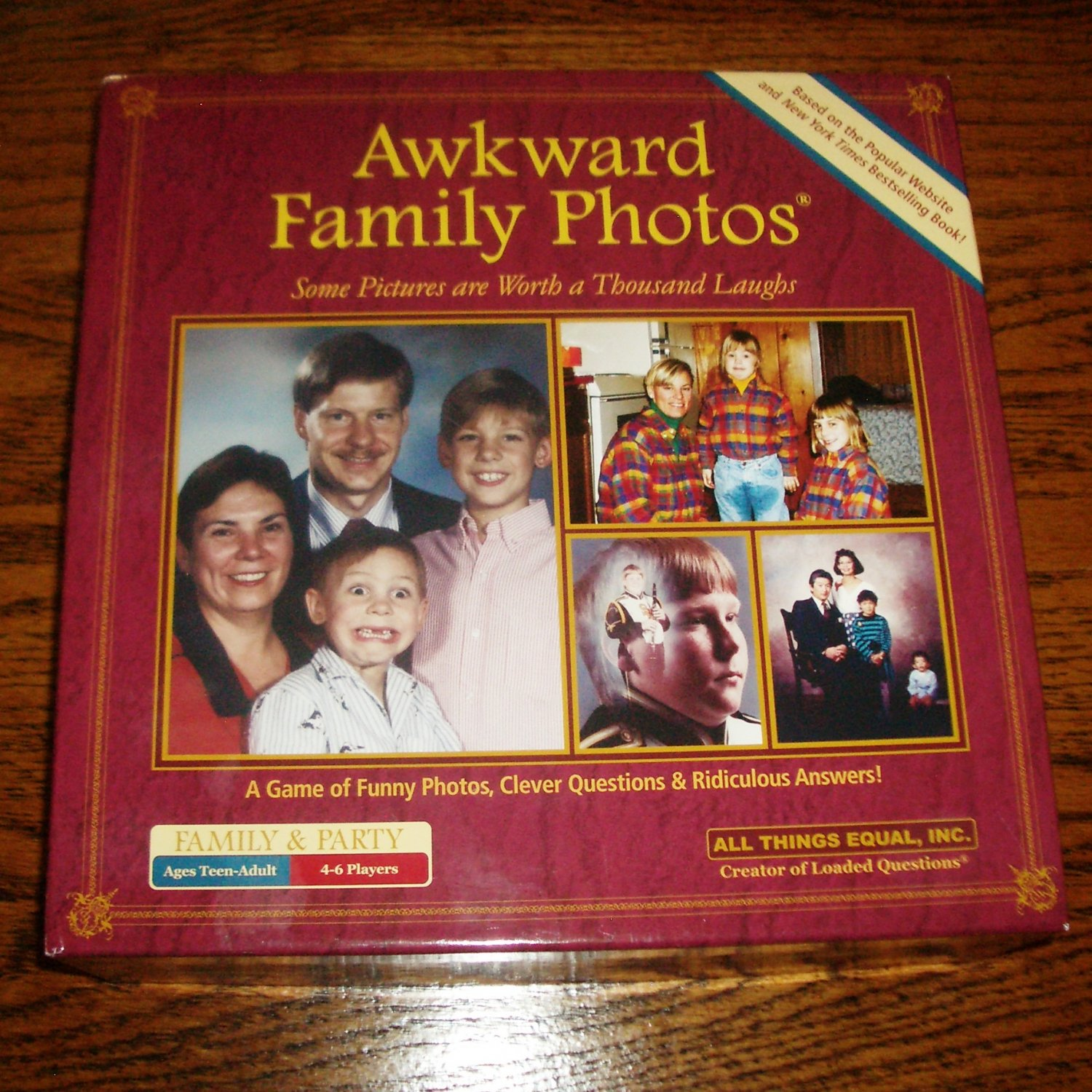 Awkward Family Photos Unpunched, New Game Fun for Whole Family