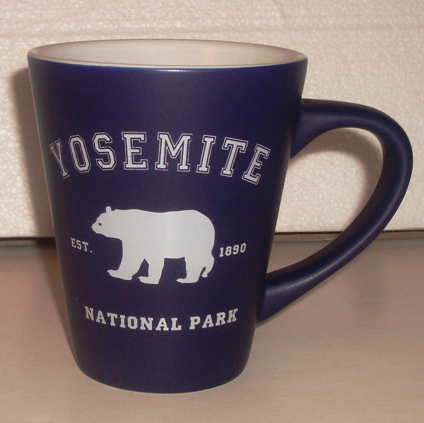 Souvenir Yosemite National Park Ceramic Coffee Mug Dark