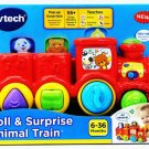 VTech Roll, Pop & Surprise Musical Talking Electronic Animal Train 6-36 months