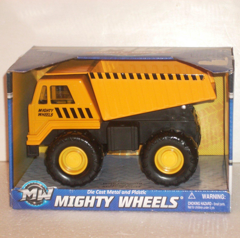 Mighty Wheels Dump Truck Die Cast Metal & Plastic