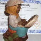 Tom Clark Gnome~Dot Com~Sculpture Art Work~Thomas F Clark w/ certificate 1998