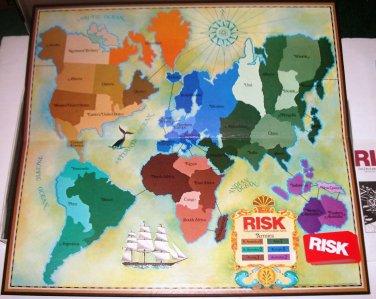RISK World Conquest 0044 Parker Bros 1980 Roman Numeral Pcs EUC Ages 10+