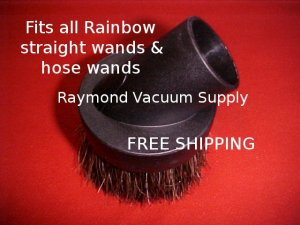 Replacement dust/dusting brush fits all Rainbow vacuum cleaner models