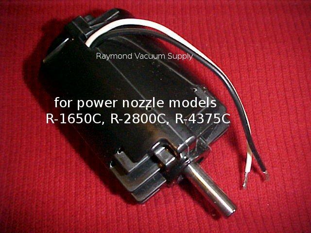 Rainbow vacuum cleaner power nozzle/head replacement motor