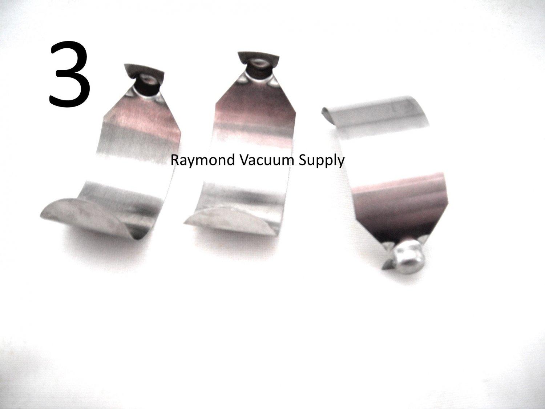 3 Rainbow Vacuum C Clip Push Button Spring Locks For E