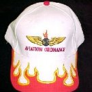 White Aviation Ordnance Ball Cap