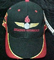 Black Aviation Ordnance Ball Cap