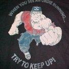 Black T-Shirt - Ordie Running